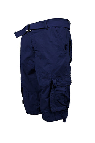 Core Essential Cargo Shorts - Navy