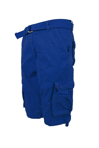 Core Essential Cargo Shorts - Royal