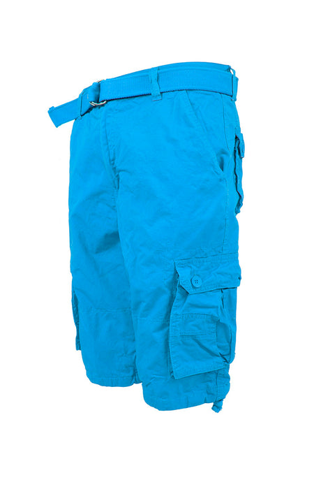 Core Essential Cargo Shorts - Turquois