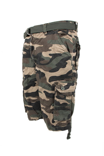 Core Essential Cargo Shorts - Camo