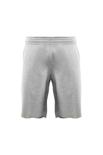 French Terry Cut Off Sweat Short - H.Grey