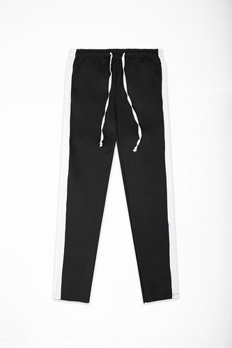 Track Pants Interlock - Black/White