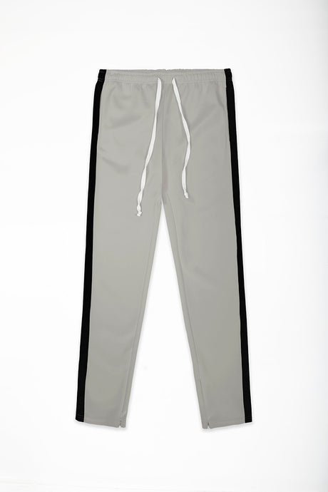 Track Pants Interlock - Grey/Black