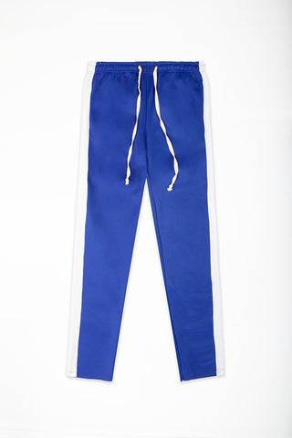 Track Pants Interlock - Royal/White