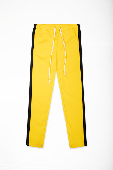 Track Pants Interlock - Yellow/Black