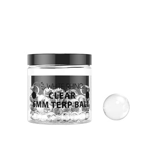 6MM Terp Balls 100 Count - Clear