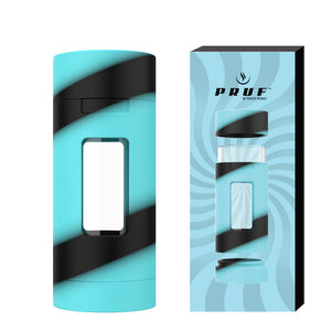 PRUF 2 in 1 Jar 6 Pack - Turquoise/Black