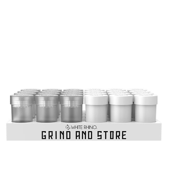 white rhino grind and store