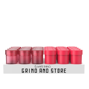 grind and store white rhino
