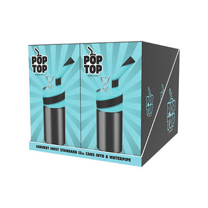 Pop Top 6 Pack Turquoise/Black