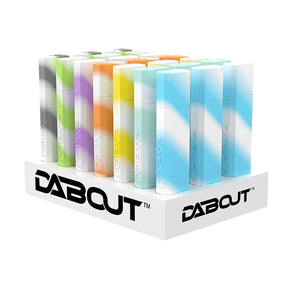 Dab Out Glow In The Dark 21 Count - Quartz Straw