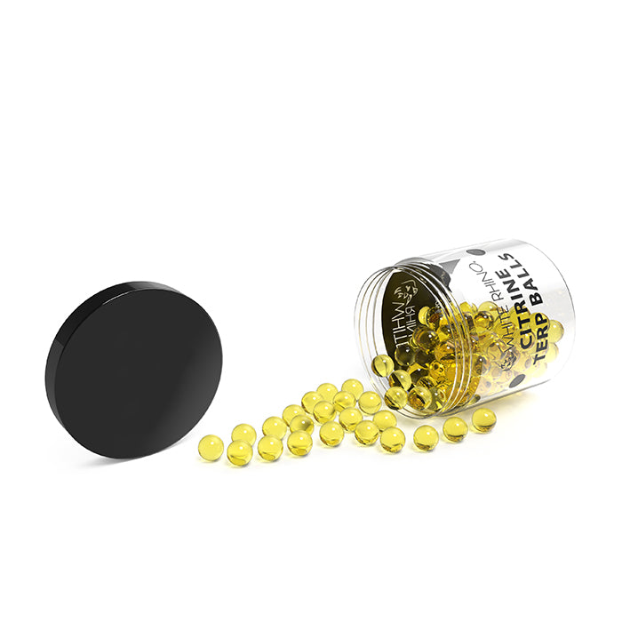 6MM Terp Balls 100 Count - Yellow