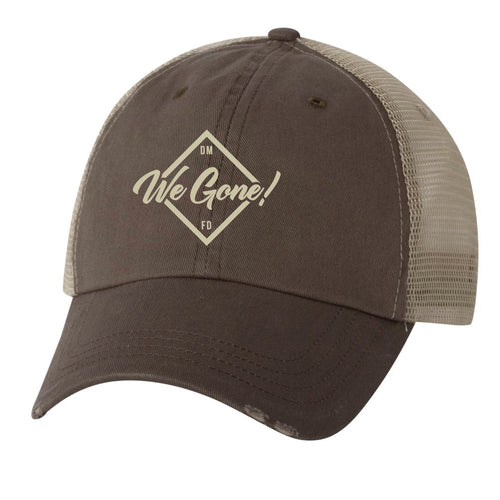 We Gone! Mesh Back Hat