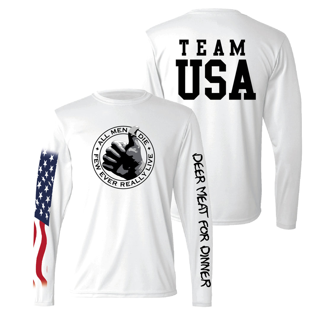 DMFD Team USA Performance Long-Sleeve