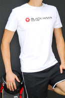 Black Hawk White Tee