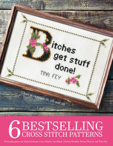 6 Bestselling Cross Stitch Patterns, Volume 1