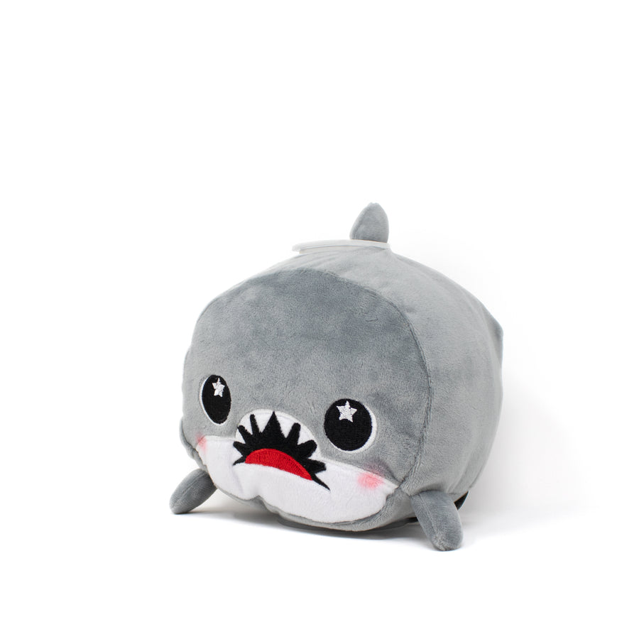 Crush the Shark Plush Bank