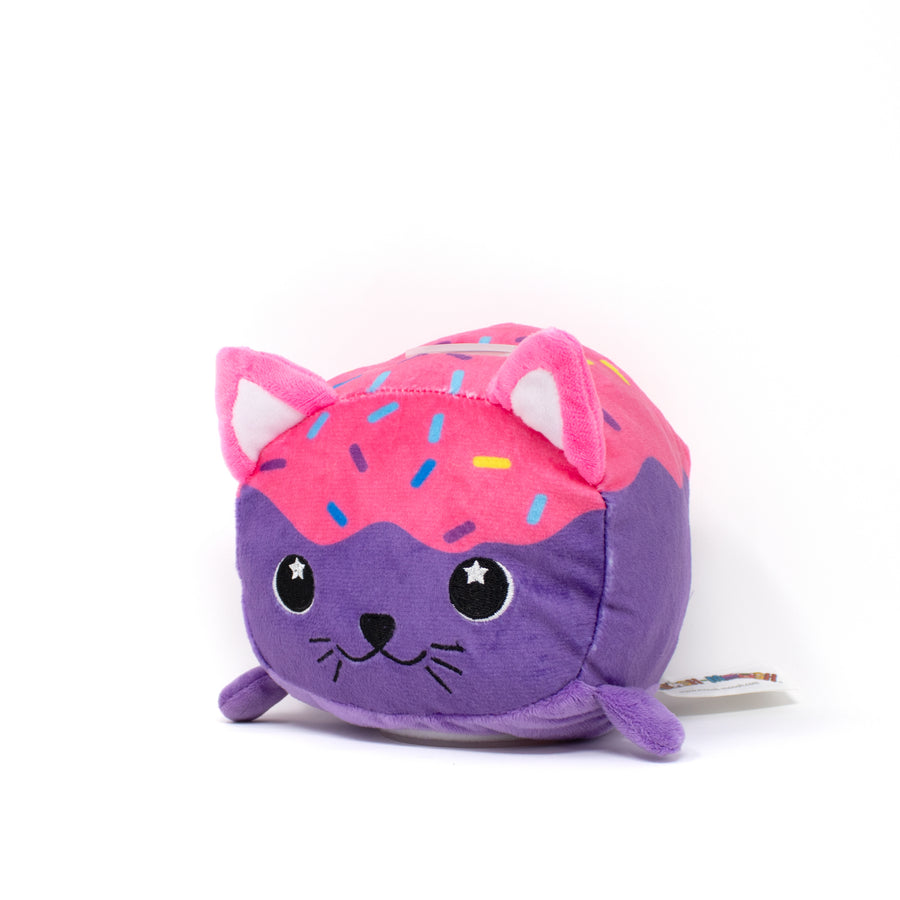 Freckles the Doughnut Cat Plush Bank