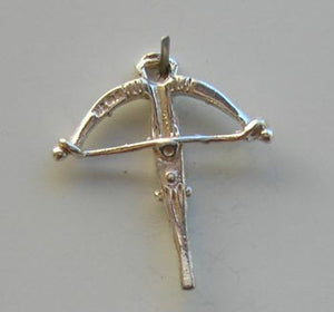 Cross Bow Charm