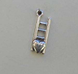 Heart & Ladder Charm