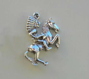 American Indian & Horse Charm