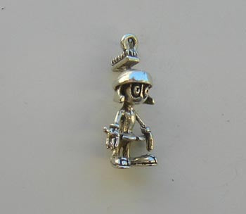 Marvin the Martian Charm