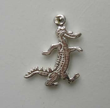 Crocodile walking charm