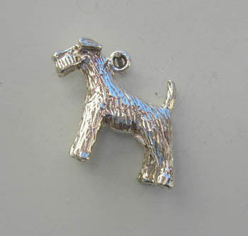 Dog (Fox Terrier) Charm
