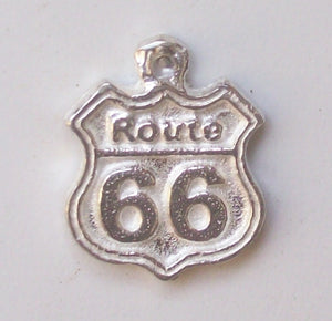 Route 66 charm