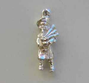 Bagpipe Player Charm