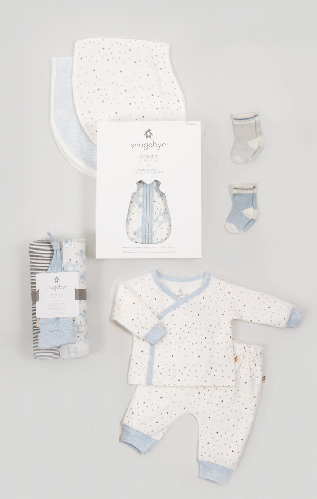 Baby Essentials Gift Bundle for Boys