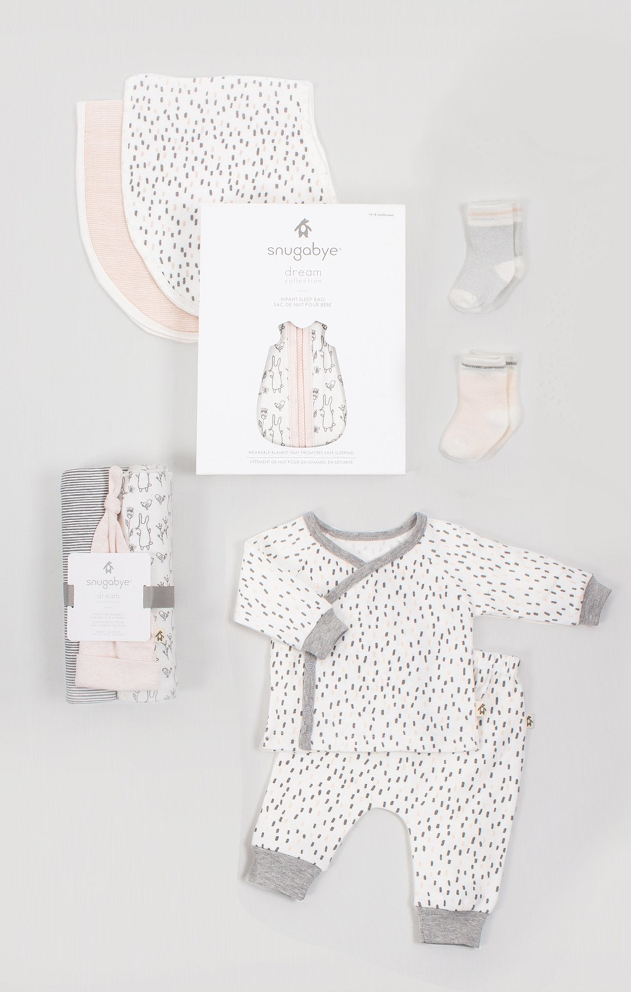 Baby Essentials Gift Bundle for Girls