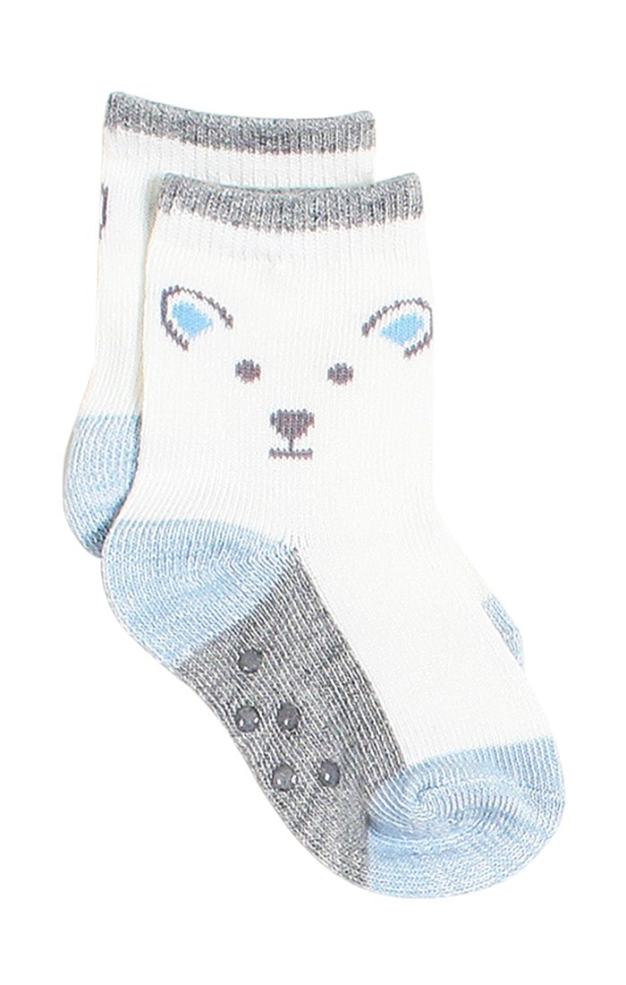 Socks - Baby Boy Crew Socks 4 Pack | Baby Accessories