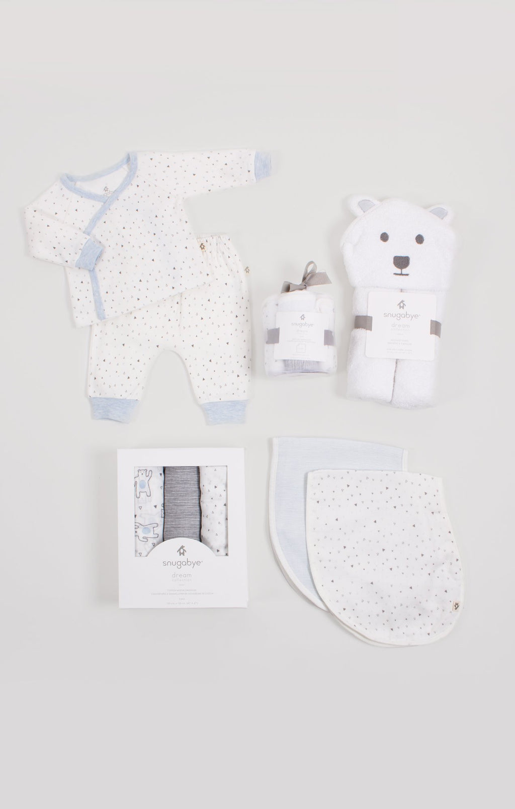 Layette Necessities Gift Bundle for Boys