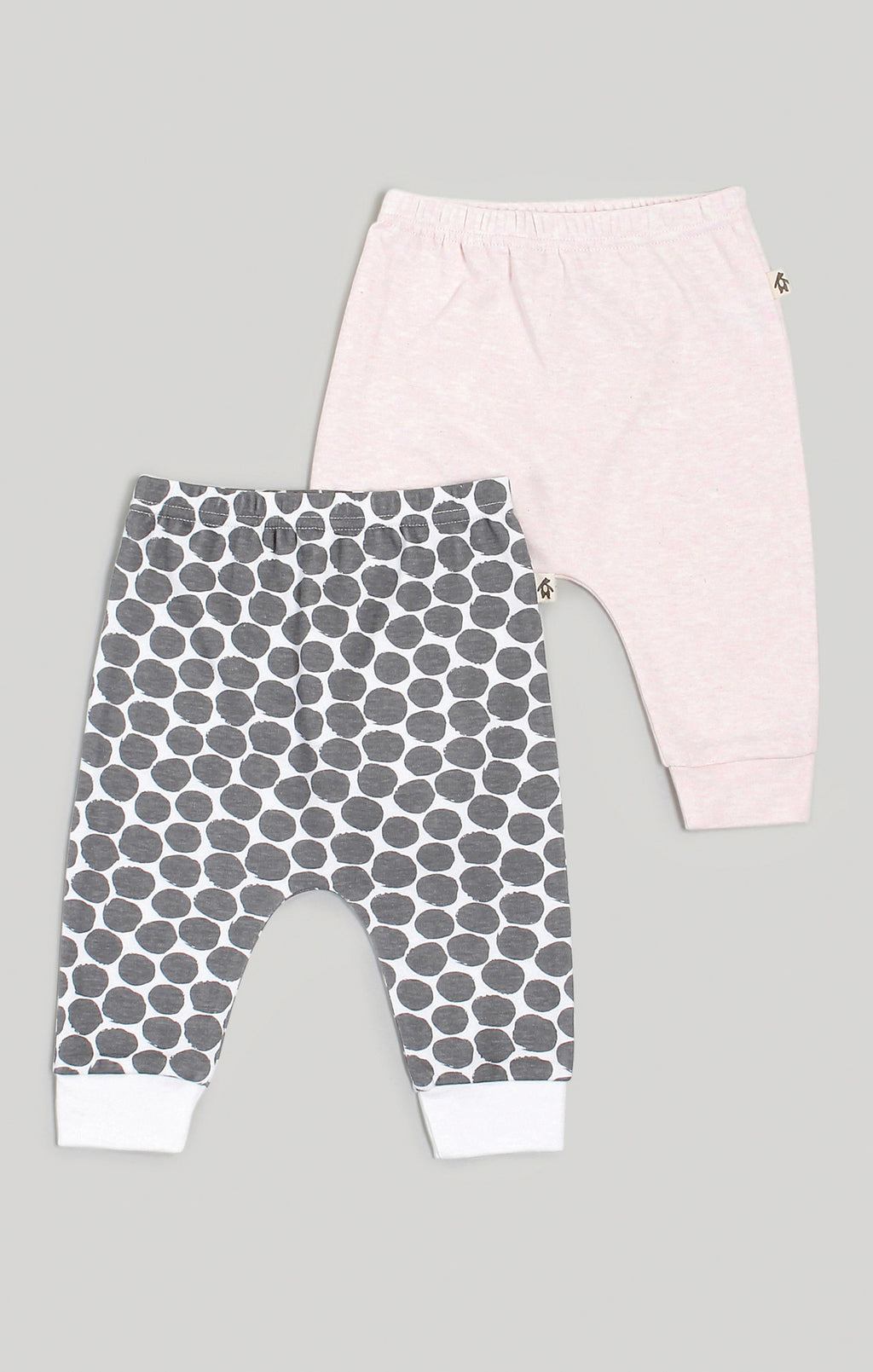 Baby Clothes - Harem Pants 2 Pack Pink & Spot Pattern