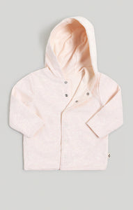 Baby Clothes - Reversible 2 Pink Hoodies in 1