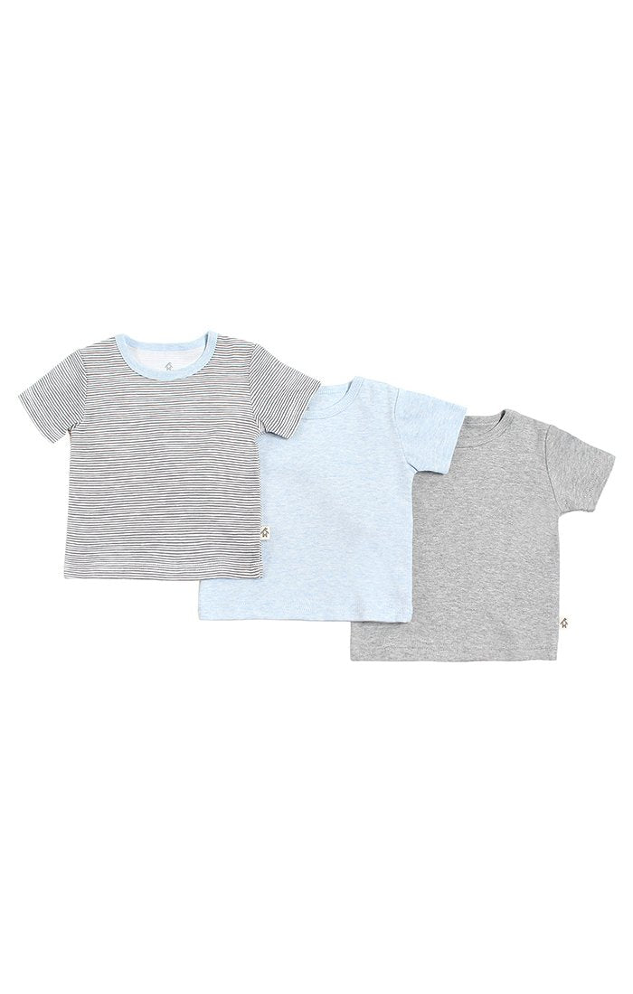 Baby Clothes - Baby Boy 3 Pack of Short Sleeve T-Shirts