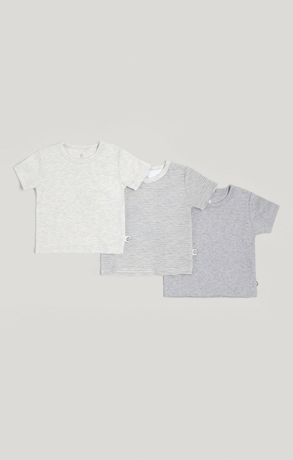 Baby Clothes - 3 Pk Neutral Short Sleeve T-Shirts