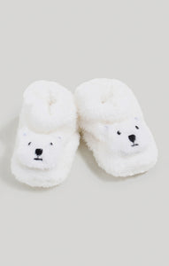 Baby Boy Dream Bunny Critter Slippers