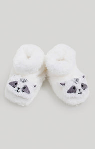 Baby Accessories - Neutral Baby Raccoon Slippers