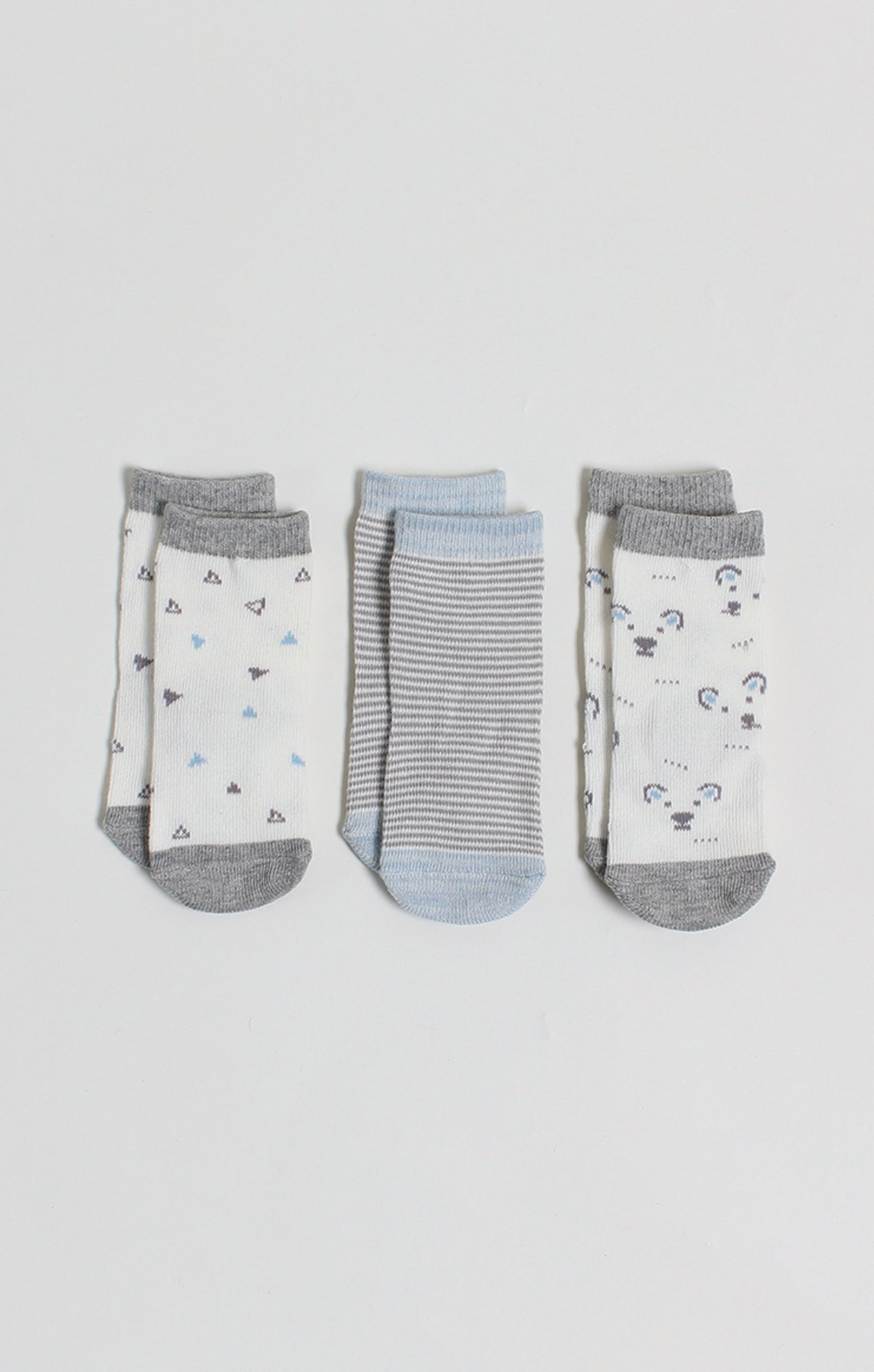 Socks - 3 Pk Baby Boy Crew Socks | Baby Accessories