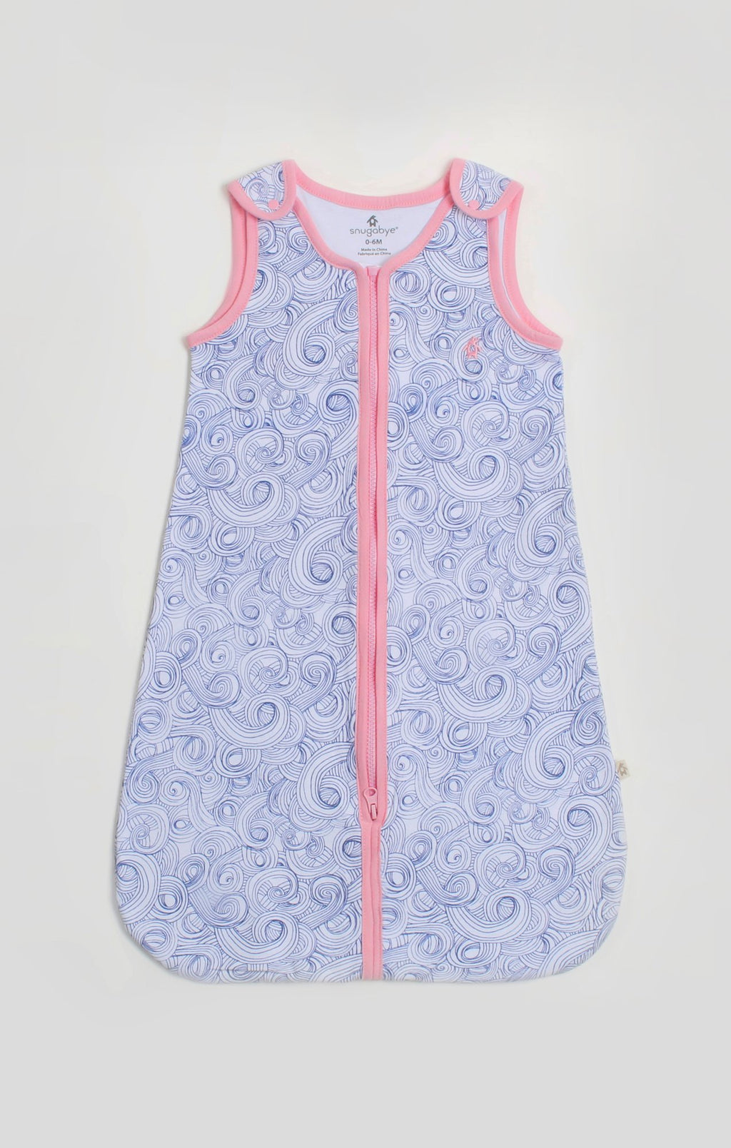 Baby Sleep Sack - Blue Swirl Sleep Bag