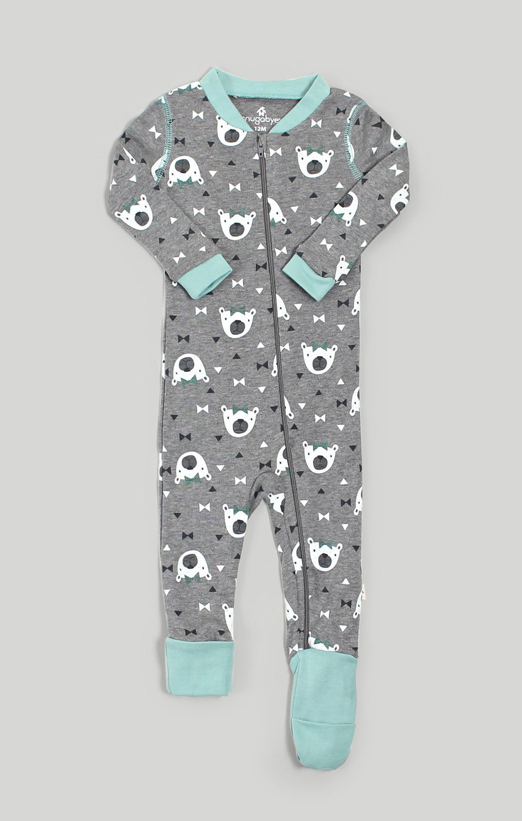 Baby Clothes | Convert-A-Foot Miss Bear Baby Sleeper