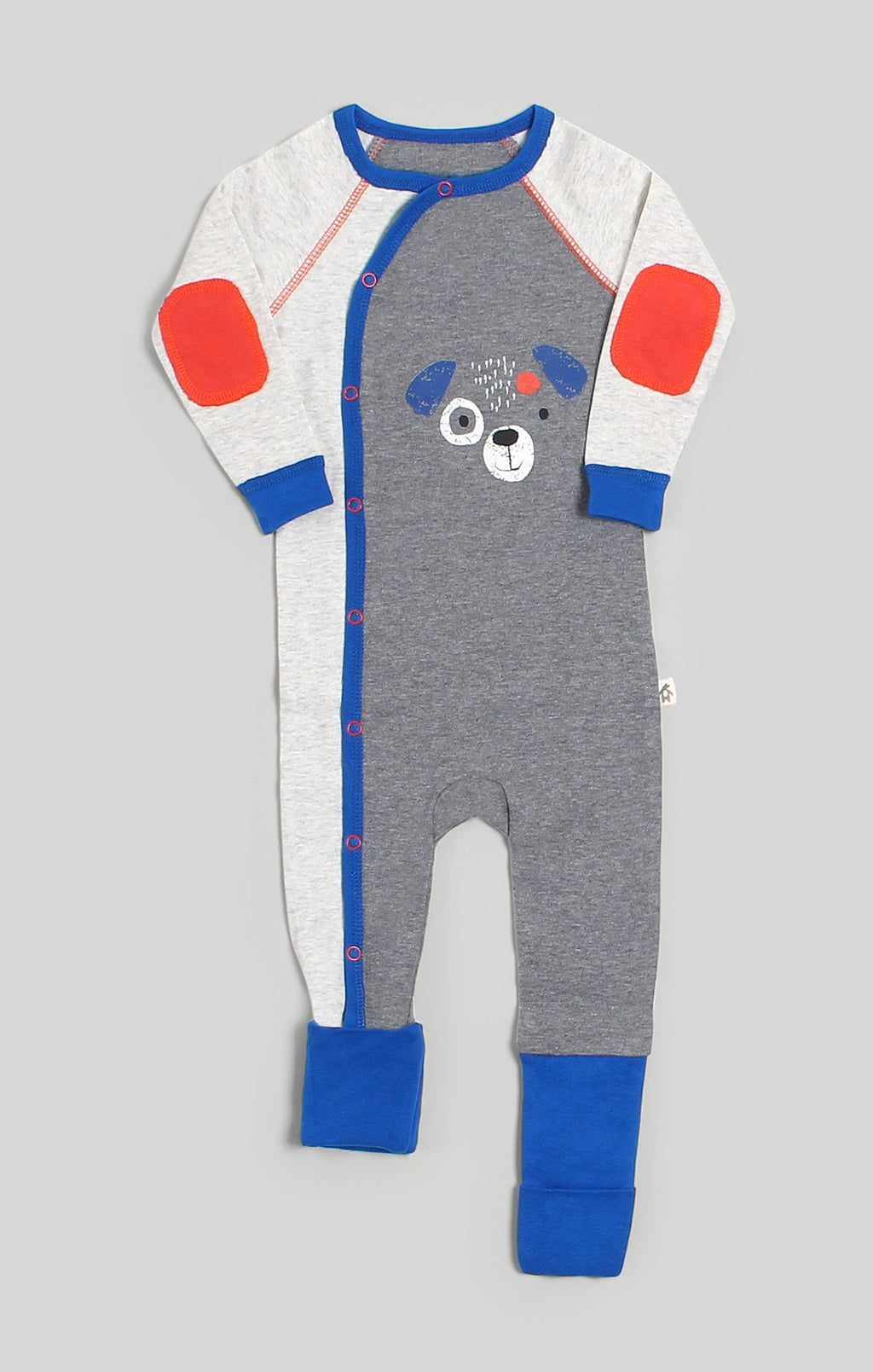 Baby Clothes | Convert-A-Foot Puppy Print Baby Sleeper