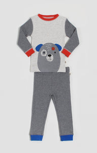 Pajamas - Puppy Convertible T-Shirt & Pant Pajama Set