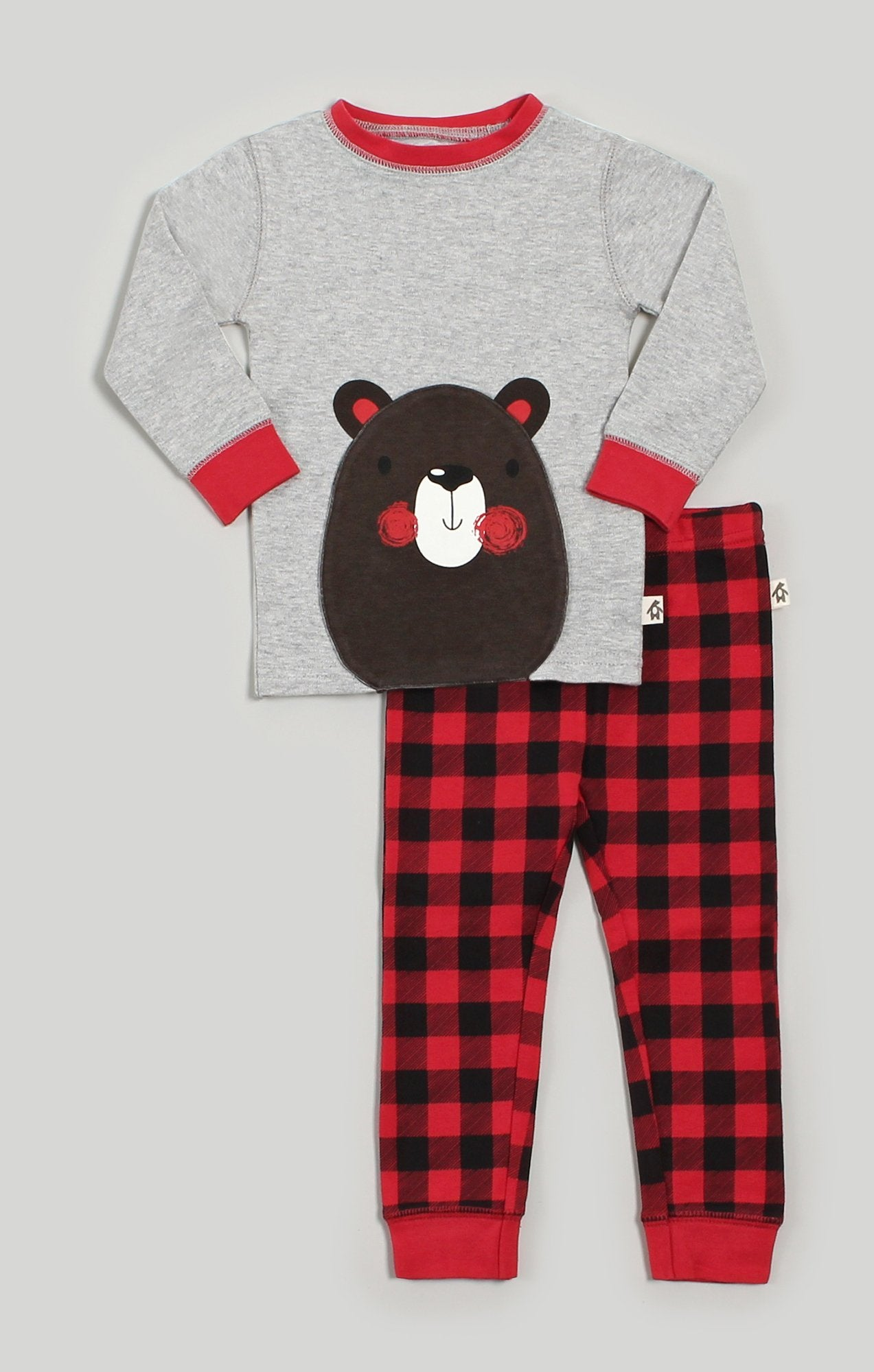 Pajamas | Bear Convertible T-Shirt & Pant Pajama Set