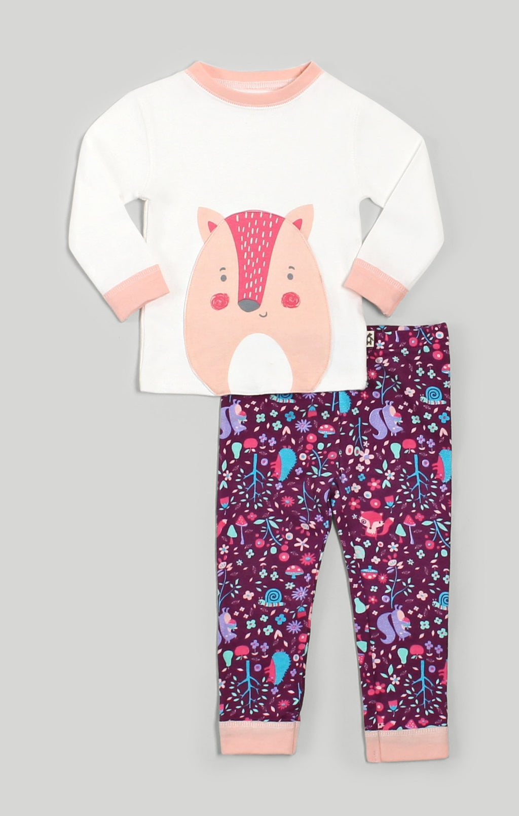 Woodland Pajama 2 Piece Set