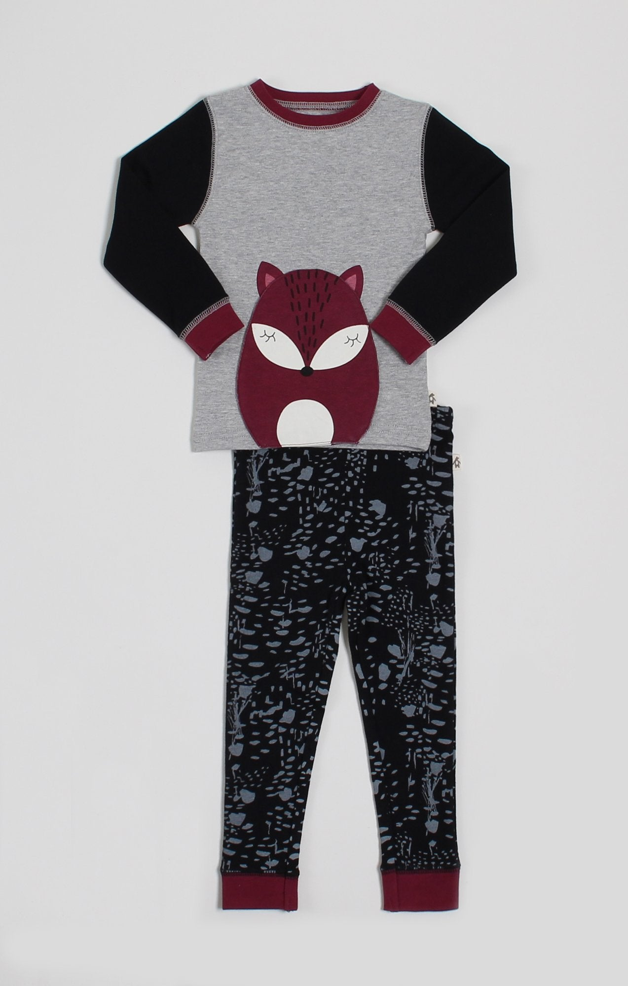 Pajamas - Fox Convertible T-Shirt & Pant Pajama Set