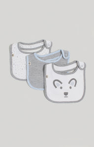 Bib - Baby Boy Dribble Bibs 3 Pack  | Baby Accessories