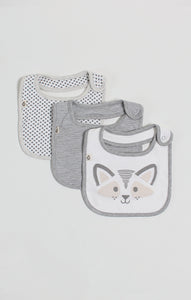 Bib - Neutral Baby 3 Pack of Dribble Bibs | Baby Accessories